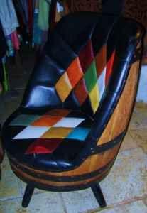 1950's Barrell chair