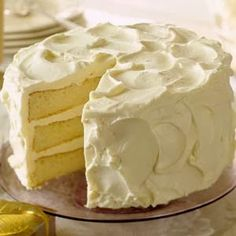White Christmas Butter Cake - Recipes, Dinner Ideas, Healthy Recipes & Food Guide