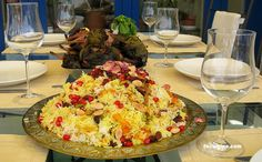 Javarher Polo (Persian Jeweled Rice)