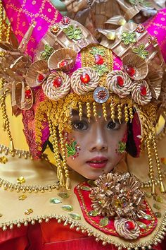 Costumed Girl-Indonesia #indonesia #girl #cute #adorable #captivating #international #babysdream