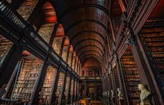 Photograph Trinity Library by Neil Cherry