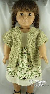 Beginner Knit Sweaters pattern from http://www.dollplaysa.com/designs.aspx?c=18