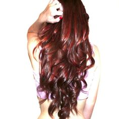 plum pudding hair