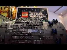 LEGO Star Wars organ plays the Star Wars theme song