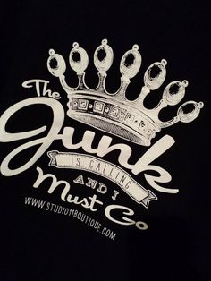 The Junk is Calling ....... T Shirt by whattawaist on Etsy, $23.00