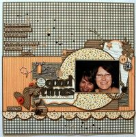 A Project by *Kristine* from our Scrapbooking Gallery originally submitted 02/20/12 at 09:10 AM