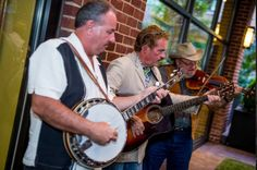 An interesting party needs and and interesting sound - Bluegrass.