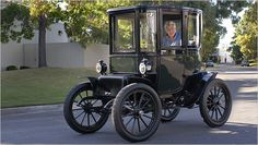 Back to the Future in a 98-Year-Old Electric Car - New York Times