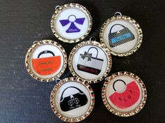 Funny Wine Drink Markers Charms Ladies Night by kimladd on Etsy, $14.00
