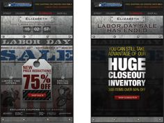 Motorcycle Superstore used a countdown clock and time-sensitive creative to promote a Labor Day sale. Once the sale ended, the email displayed an alternate image promoting an inventory closeout sale. #emailmarketing #countdownclock #realtime