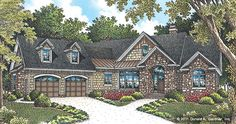 The Bluestone House Plan Images - See Photos of Don Gardner House Plans (4413/1302f)