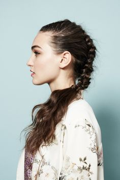 Braids: The Feminine Fauxhawk