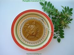 Pumpkin Coconut Butter is so Delicious! Its tastes like pumpkin pie but it's more creamy from the coconut butter! You have to make this recipe!  #pumpkin #coconut #recipes