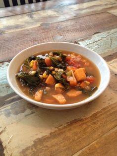 Sweet potato kale Soup Recipe
