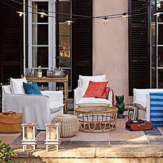 Pool side, Moroccan feel