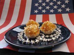 An American classic with a sea salt twist in fun Athens Mini Fillo Shells