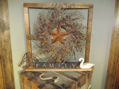 Country Primitive Craft 4 Pane Window with by CountryCraftWindows, $37.00
