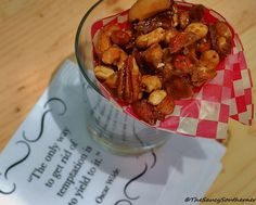 Beer and Sriracha Candied Cocktail Nuts #recipe | The Saucy Southerner via The Beeroness (gently modified)