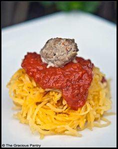 Clean Eating Spaghetti Squash Spaghetti