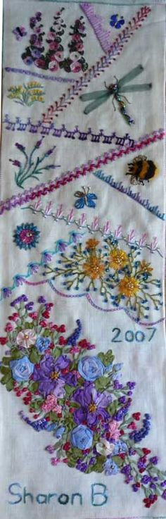 Embroidery - crazy quilt