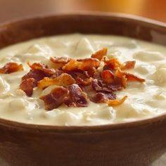 Cheesy Potato Soup Crockpot Recipe