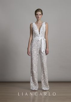 Lace jumpsuit with p