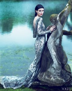 Rooney Mara's shoot for US Vogue November 2011 photographed by Mert Alas & Marcus Piggott.