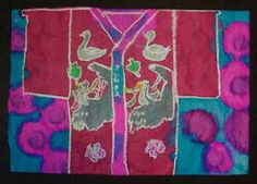 Elementary Art Projects Inspired by Japanese Art and Culture japanese art, cultural art projects, art lesson, kid art, japanes art, elementari art, kimonos, elementary art