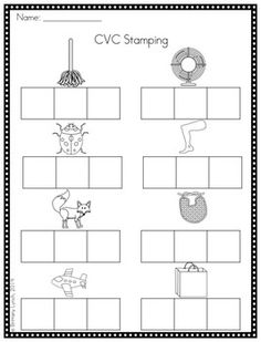 segmenting words - Google Search | Kindergarten things for ...