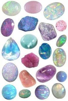 So many Opals.