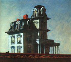 Edward Hopper - House by the Railroad, 1925 WikiArt.org