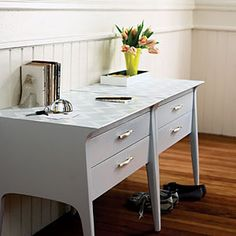 55 home decorating projects | Create a console table | Sunset.com