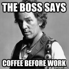 The message of this #coffee meme is simple, never argue with the boss! c[_]
