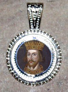 King Henry II of England Pendant