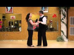 Salsa Latin Dance, Leader's Left Turn in Closed Hold.