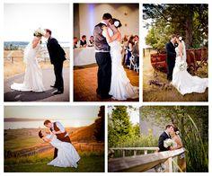 Wedding Venue near Seattle, WA - Chambers Bay Golf Course, University Place, WA.   Click photo to see more great wedding photos! http://www.chambersbaygolf.com/chambersbay.asp?id=232=8001