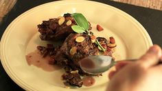 It's a chicken dinner cooked in wine! Try Rachael's Chicken in Chianti. #whatsfordinner