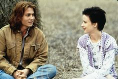 "Becky (Juliette Lewis): ""I love the sky. It's so limitless."" // Gilbert (Johnny Depp): ""It is big. It's very big."" // Becky: ""Big doesn't even sum it up, right? That word big is so small."" -- from What's Eating Gilbert Grape (1993) directed by Lasse Hallström"