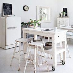 Roundup of white interiors (image via podobasie)