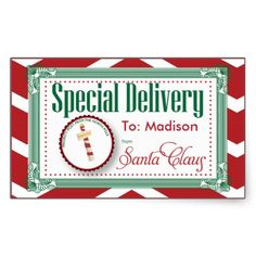 From Santa Gift Tags On Pinterest Gift Tags Stickers