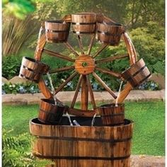 Yard fountains on pinterest outdoor water fountains for Do it yourself water features
