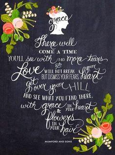 Mumford & Sons lyrics quote