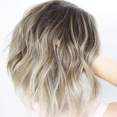 blonde balayage on d