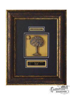 SC Palmetto Tree wall plaque. See more SC themed gifts by visiting the Cotton Mill Exchange at scmuseum.org