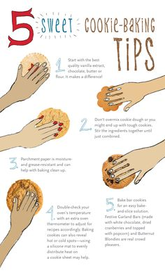 Check out these 5 SWEET tips for baking cookies! (and click through for great recipes) #holiday #cookie #recipe