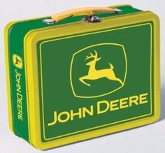 John  Deere bedroom ideas   Amazon.com: Nostalgic John Deere Plow Co Workman Metal Lunch Box: Home ...