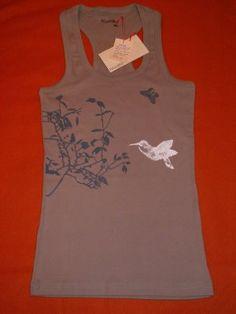 Frivolitè: Camisetas pintadas a mano