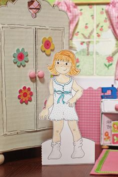 Paper Dolls-downloadable craft, bombs, paper dolls, papers, daughters, kids, prints, homes, boots