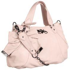 Betsey Johnson Bow Tied Satchel Handbag