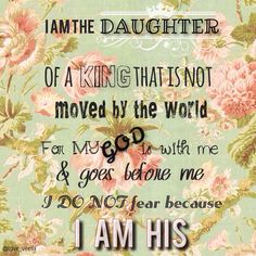 You are His...